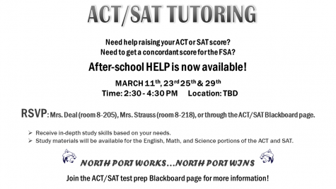 Information about ACT/SAT Tutoring